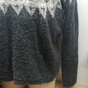 Sonoma Sweaters - Heavy Warm Gray XL Polyester sweater